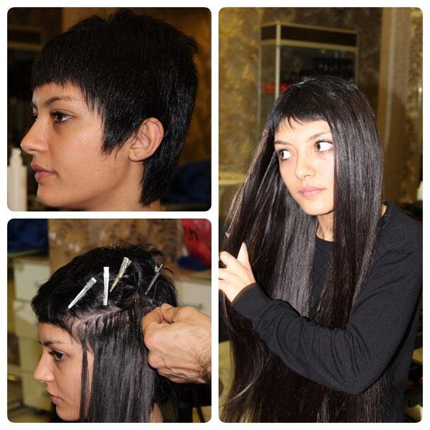 Kısa Saça Kaynak Nanofilament Saç Kaynağı
